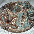 Ennio Furiesi-God Creates Adam-Bradford 1989 Bronze Plate