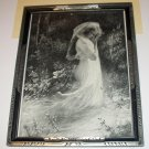 Nude Nymph Goddess Gal In Forest Antique Print Spring Awakening Artist M Levis Fabulous Art Deco