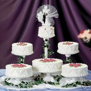 5 Tier single Use Wedding Cake Stand