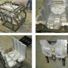 CNC machined moulds service