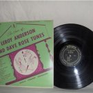 An Hour Of LEROY ANDERSON And DAVE ROSE Tunes