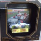 Mark Martin 1993 #6 Valvoline Ford Premier Edition 1:64 with Collector Card