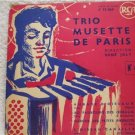 Trio Musette De Paris - René Joly No. 4 RCA Records F75 069