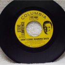 STEVE LAWRENCE Don't Come Running Back 1963 Columbia Records 4-42699 ZSP 59241