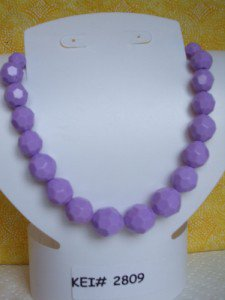 Purple Textured Faceted Beaded Necklace xhilaration Target