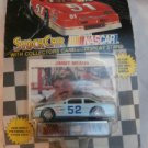1991 Jimmy Means #52 Blue Pontiac Racing Champions Stock Car Nascar Display Card