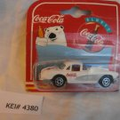 1997 White Bear Coca Cola Majorette Corvette 200 Series