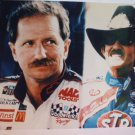 Richard Petty Dale Earnhardt Glossy Color Photo Print 8 x 10 Nascar 7 Time Champ