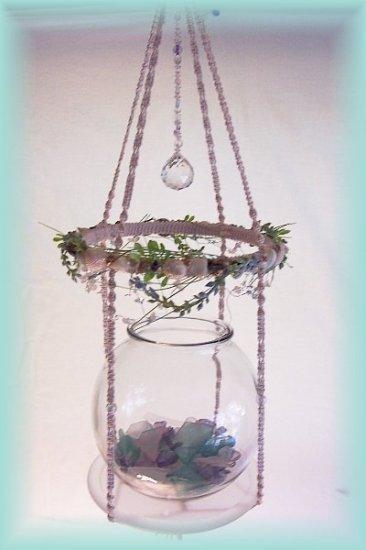 Hanging Ooak Mermaid Display Shelf