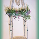 Hanging Natural Twine Fairy Display Shelf