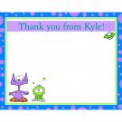 20 Personalized Thank You Cards - Out of This World