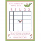 24 Personalized Baby Shower Bingo Cards -PINK SWEET PEA theme!