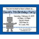 20 Birthday Invitations   ROBOT