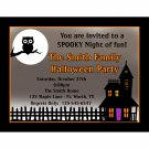 20 Personalized Halloween Party Invitations - Haunted House