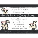 20 Personalized Baby Shower Invitations - Little Stinker