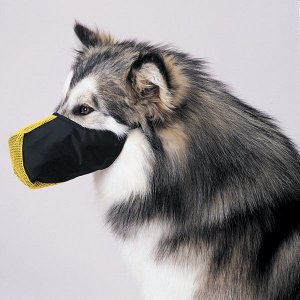 Pro-Guard Softie Muzzles for Dogs Medium (15) = Orange  Fits snouts 9 1/2�