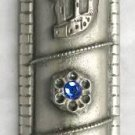Pewter mezuzah Jerusalem old city jewish Israel mezuza