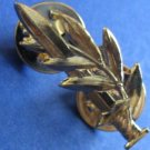 Israel Israeli army IDF golden officer shoulder pin