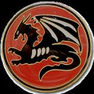 Israeli army Squadron 115 unit pin Red dragon IDF Air Force