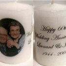 Personalized Photo Votive Candle Favors