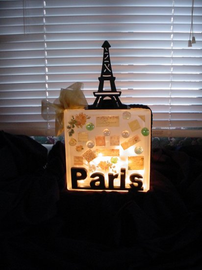 French Theme Nightlight