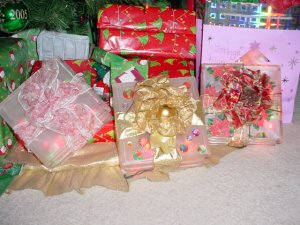 Christmas Gift Glass Block Nightlight