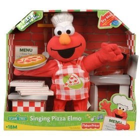 Fisher-Price: Pizza Party Singing Elmo