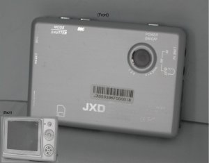 JXD 4Z-681-512 MP4 player with camera