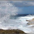 LP-2031 Waves Crashing with Splash - Full Color Photography License Plates