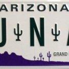 LP-1044 AZ Arizona CU N AZ License Plate