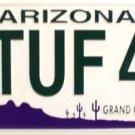 LP-1099 AZ Arizona 2 Tuf 4 U License Plate