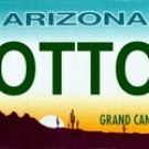 LP-2111 Arizona State Background License Plates COTTON