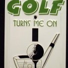 Golf Light Switch Covers (single) Plates LS10052