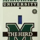 Marshall University The Herd Light Switch Covers (single) Plates LS10179