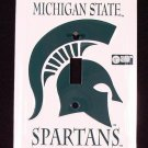 Michigan State Spartans Light Switch Covers (single) Plates LS10005