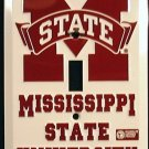 Mississippi State University Light Switch Covers (single) Plates LS10161