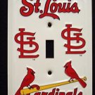 St Louis Cardinals Light Switch Covers (single) Plates LS10042