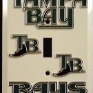 Tampa Bay Rays Light Switch Covers (single) Plates LS10043