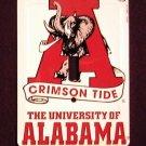 University of Alabama Crimson Tide Light Switch Covers (single) Plates LS10067