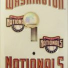 Washington Nationals Light Switch Covers (single) Plates LS10180