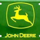 LP-058 John Deere Green - Logo Only License Plate