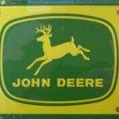 LP-080 John Deere Yellow License Plate