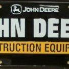 LP-1212 John Deere Construction Equipment License Plate