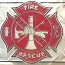 LP-020 Fire / Rescue License Plate