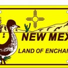 LP-472 New Mexico Roadrunner License Plate