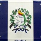 LP-488 Guatamala Flag License Plate