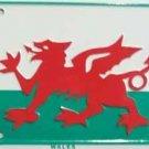 LP-510 Wales Flag License Plate