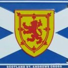 LP-522 Scotland / St Andrews Flags License Plate