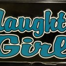 LP-379 Naughty Girl License Plate