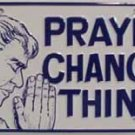 LP-259 Prayer Changes Things License Plate